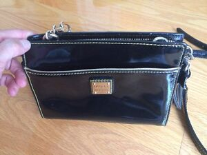 Dooney and Bourke black patent leather