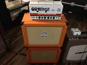 Orange Dual Terro head + 1X12 PPC cabinet Celestion Vintage 30