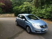 Vauxhall corsa club comes with 12 months mot great condition