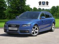 2009 59 AUDI A4 2.0 AVANT TDI S LINE SPECIAL EDITION 5D 141 BHP DIESEL HUGE SPEC