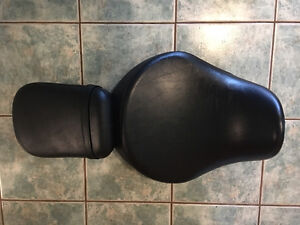 Orignal Stock Exhaust Pipes and Leather Seat