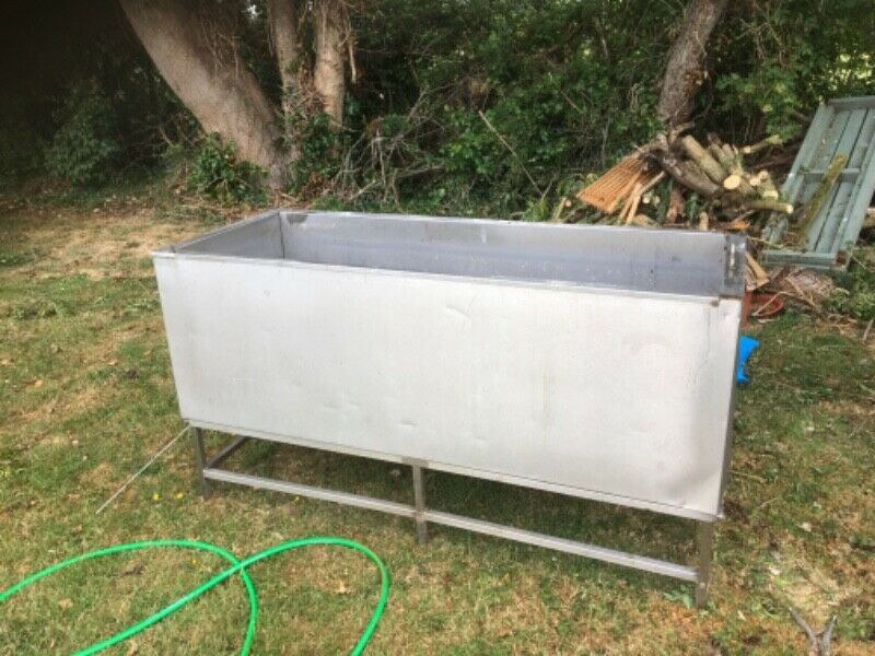Stainless Steel Containers , Bath , Tubs