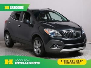 2013 Buick Encore Leather AWD A/C CUIR MAGS BLUETOOTH CAM RECUL