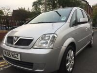 2005 Vauxhall Meriva 1.6 Breeze 5 door automatic *long mot*