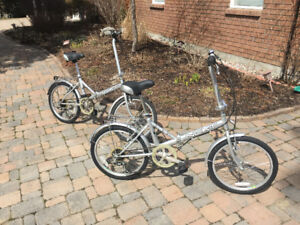 2 Folding Bikes -perfect for boat