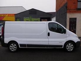 2012 Renault Trafic LWB traffic with SAT NAV immaculate condition 1 owner (22)