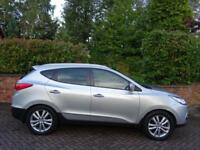2011 61 Hyundai ix35 2.0CRDi 16v ( 4WD ) auto Premium VERY HIGH SPECIFICATION !!