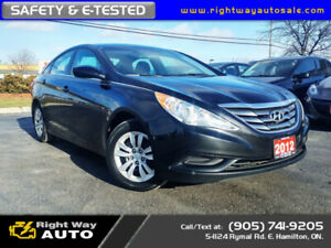 2012 Hyundai Sonata GLS | NEW TIRES | SAFETY & E-TESTED