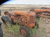 Case S Tractor (For Parts, Not Running)