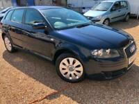 2008 '57' Audi A3 2.0 TDi 170 Sportback. Diesel. Manual. 5 Door. Px Swap