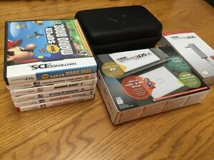 New Nintendo 3DS XL Bundle & 7 Games
