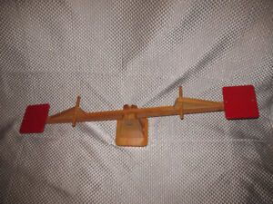 Wooden Childrens Teeter-Totter See-Saw made by CRAMA - Only $75!