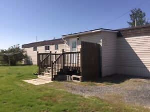 Extra wide newly renovated trailer home