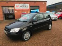 2005 Hyundai Getz 1.3 GSi Black, 3dr Hatch, **ANY PX WELCOME**