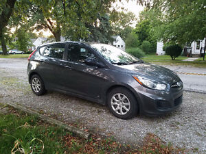 2012 Hyundai Accent GL Hatchback - Negotiable - Replacement Ins.