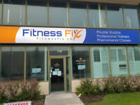 PRIVATE PERSONAL TRAINING STUDIOS AND LARGE FITNESS CLASS STUDIO