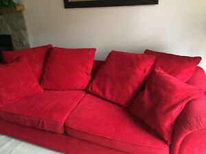 Beautiful,excellent matching sofa & chair
