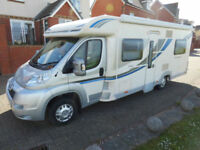 2012 Bailey Approach SE 745 4 Berth Rear Fixed French Bed and Separate Shower