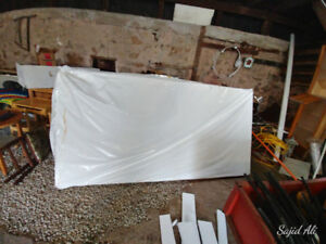 "Styrofoam insulation sheet 4""thick for sale"