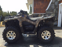 2012 Canam Outlander 1000 XT in CAMO w/ EXTRAS!