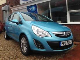 2012 62 Vauxhall Corsa 1.2i 16v SE FINANCE AVAILABLE