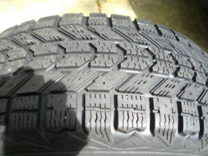 Winter Tires 205 55r 16 with Rims 80%