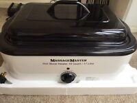 Massage Master Hot Stone Heater ( Stones Included )