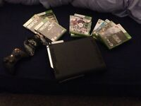Xbox 360 10 games 2 controllers