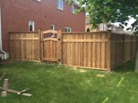 SS construction fence and decks free estimates!!!