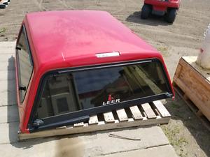 Red truck cap