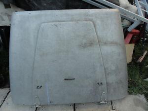 Hood jeep YJ $80+grille+lumiere$70+ les3 fenetre toit dur $ 150