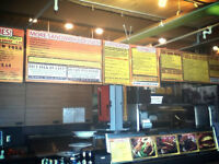 SUDBURY'S GREATEST INDEPENDENT FAST FOOD KITCHEN IS HIRING!