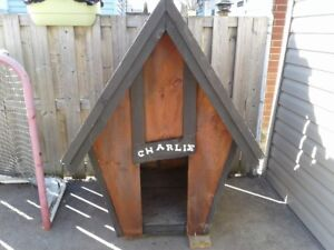 Very Cool Large Dog House - For Sale $125