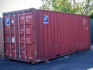 Gently used 20ft and 40ft steel sea containers for storage London Ontario image 9
