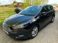2016 Ford Focus 1.5 TDCi 120 Zetec 5dr £0 road tax ULEZ. ESTATE Diesel Manual