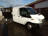Ford Transit 350 CREW CAB TIPPER 100PS