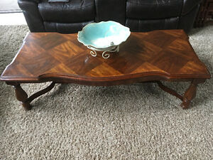 Coffee Table & 2 Endtables