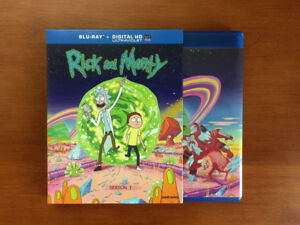 Rick and Morty Season 1 Blu Ray