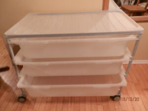 Ikea plastic storage container for toys