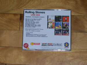 The Rolling Stones Live - 9 Album Collection, Russian CD Import! West Island Greater Montréal image 3