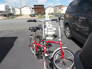 2 vélos pliables