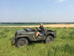 Rare, Rare Military M38A-1 Canadian Jeep