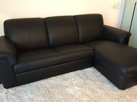 Brand NEW! Real leather sectional couch, FREE delivery!!