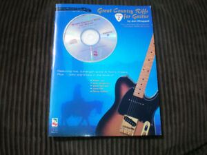 Great Country Riffs for Guitar *** Sheet Music Book + Cd