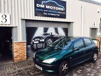 Peugeot 206 LX 1.4 2002 IDEAL CHEAP RUNABOUT!