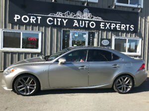 2014 Lexus IS 250 AWD - F SPORT EXECUTIVE PACKAGE / ONE OWNER
