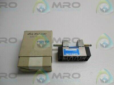 Festo Mfh-53g-d-1-c Solenoid Valve New In Box