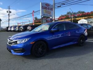 2017 Honda Civic LX    FREE 1 YEAR PREMIUM WARRANTY INCLUDED!