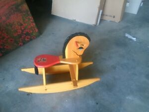 Antique Childrens Rocking Horse