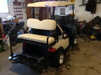 Golf Cart Rear Flip Seats